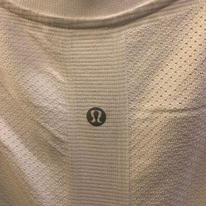 lululemon athletica Dresses - Lululemon white sleeveless dress sz 8 70692